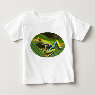 Red Eyed Green Tree Frog Baby T-Shirt