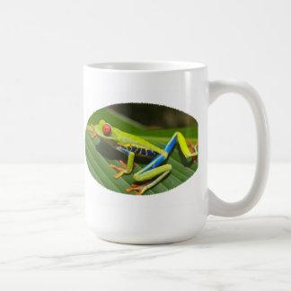 Red Eyed Green Tree Frog Coffee Mug