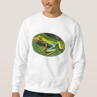 Red Eyed Green Tree Frog Sweatshirt