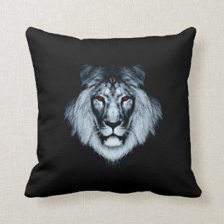 Red Eyed Lion Pillow