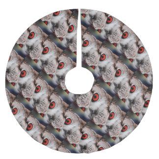 Red-Eyed Owl Brushed Polyester Tree Skirt