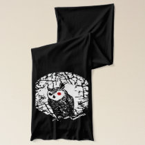 Red Eyed Owl Scarf