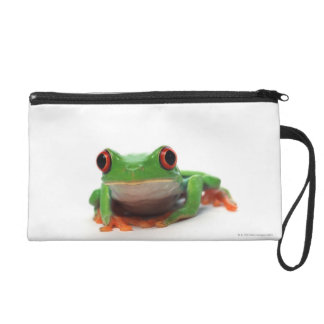 Red eyed tree frog 2 wristlet