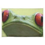 Red-eyed tree frog (Agalychnis callidryas) 2 Cloth Placemat