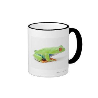 Red-Eyed Tree Frog (Agalychnis Callidryas) Ringer Coffee Mug