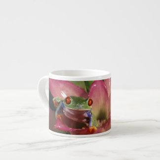 Red-eyed tree frog Agalychnis callidryas) Espresso Cups