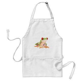 Red-eyed tree frog Baby Jersey Bodysuit Adult Apron