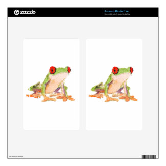 Red-eyed tree frog Baby Jersey Bodysuit Decal For Kindle Fire