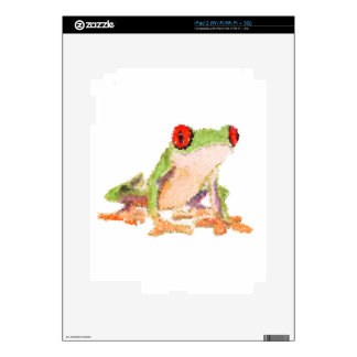 Red-eyed tree frog Baby Jersey Bodysuit iPad 2 Skins