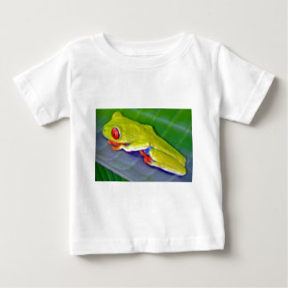Red-Eyed Tree Frog Baby T-Shirt