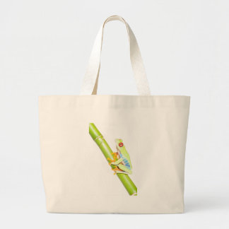 red eyed tree frog canvas bags
