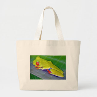 Red-Eyed Tree Frog Canvas Bag