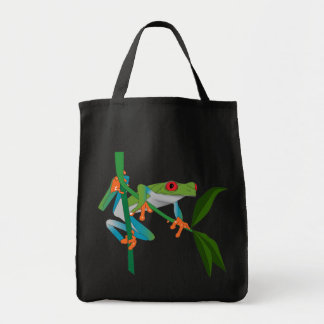 Red Eyed Tree Frog Canvas Bag