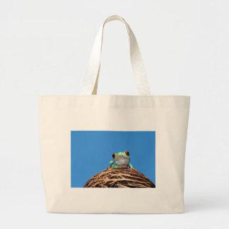 red eyed tree frog bag