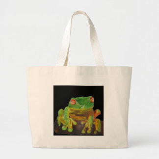 Red Eyed Tree Frog. Bags
