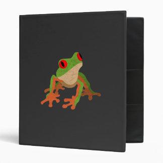 Red Eyed Tree Frog Binder