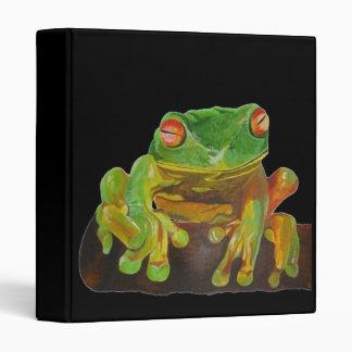 Red Eyed Tree Frog. Binder