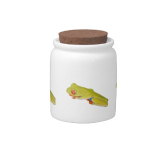 Red-Eyed Tree Frog Candy Dish