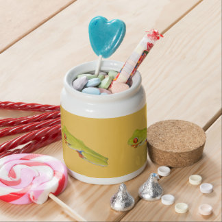 Red-Eyed Tree Frog Candy Jar