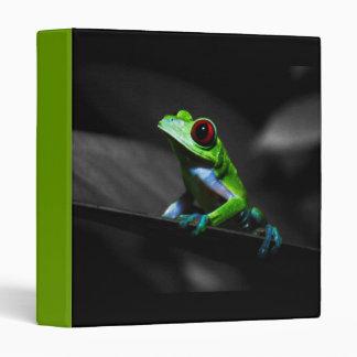 Red Eyed Tree Frog III Binder