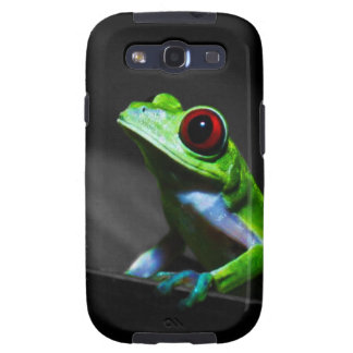 Red Eyed Tree Frog III Samsung Galaxy S3 Covers