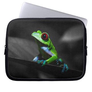 Red Eyed Tree Frog III Computer Sleeve
