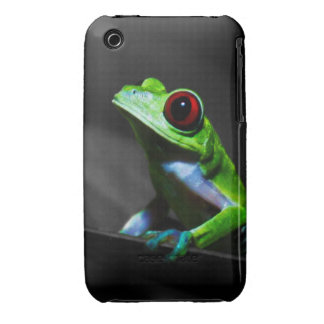 Red Eyed Tree Frog III iPhone 3 Covers