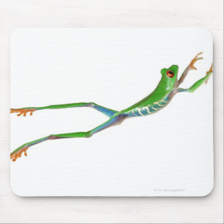 Red eyed tree frog jumping mouse pads