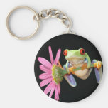 red eyed tree frog key chains