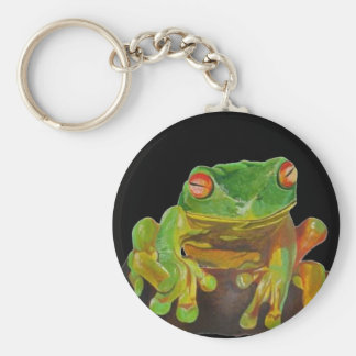 Red Eyed Tree Frog. Keychain