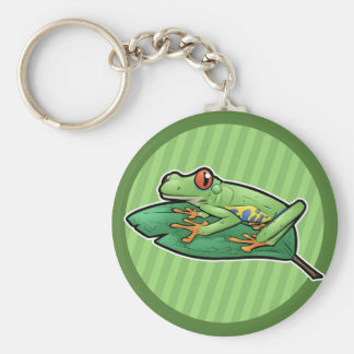 Red Eyed Tree Frog Keychain