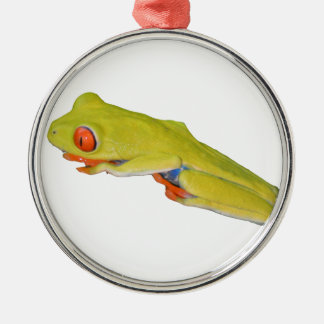 Red-Eyed Tree Frog Metal Ornament