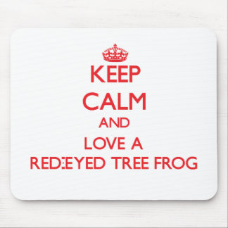 Red-Eyed Tree Frog Mouse Pad