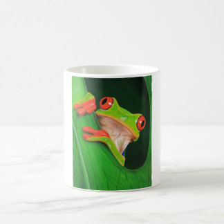 Red Eyed Tree Frog Classic White Coffee Mug
