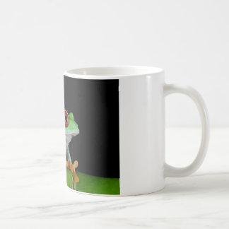 red eyed tree frog coffee mug