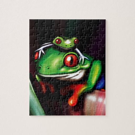 Red Eyed Tree Frog Puzzle