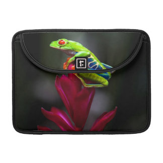 Red-eyed Tree Frog Sleeve For MacBooks