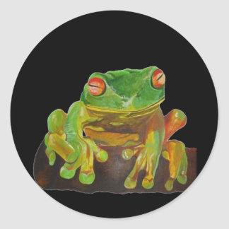 Red Eyed Tree Frog. Sticker