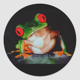 Red-eyed Tree Frog Stickers