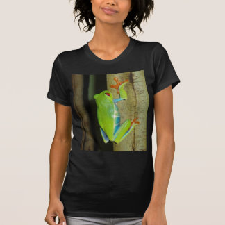 red-eyed tree frog t-shirts