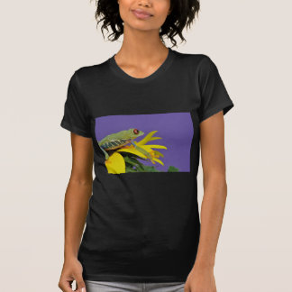 red eyed tree frog t shirts