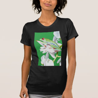 red eyed tree frog t-shirts