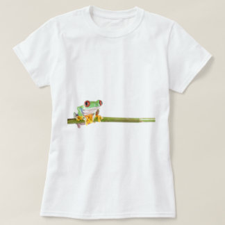 red eyed tree frog tshirt