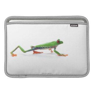 Red eyed tree frog walking MacBook air sleeves