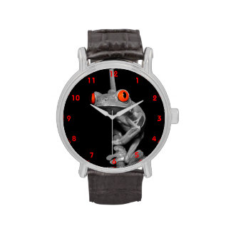 Red Eyed Tree Frog Wrist Watch