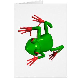 Red Eyed Tree Frogs Agalychnis callidryas Card