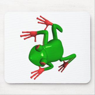 Red Eyed Tree Frogs Agalychnis callidryas Mousepad