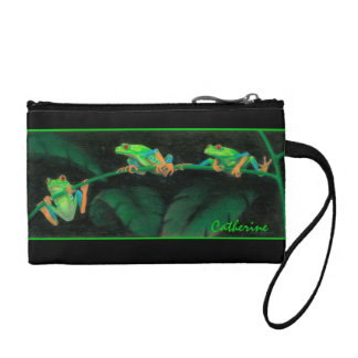 Red-eyed Tree Frogs Bagettes Bag
