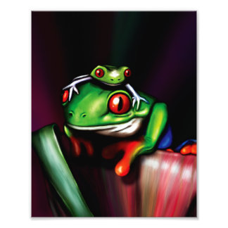 Red Eyed Tree Frogs Photo