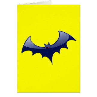 Red-Eyed Vampire Bat Greeting Card